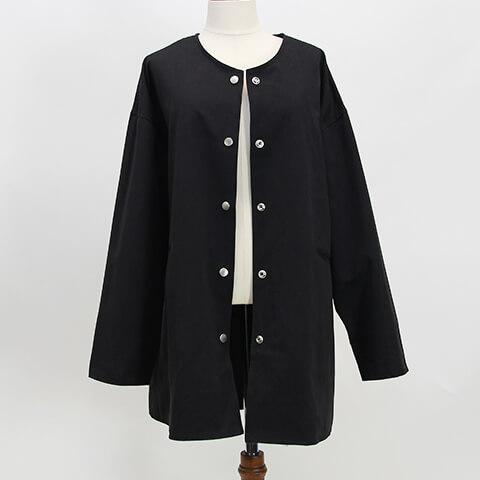 no color  over jaket